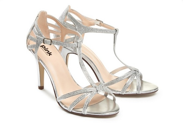 Phoebe Bridal Sandals by Paradox London Pink