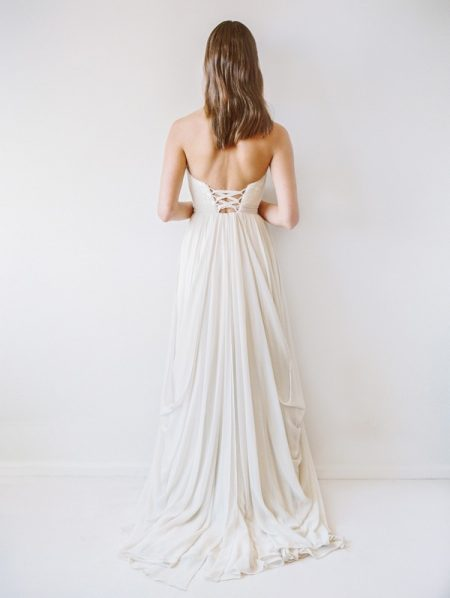 Back of Powell Wedding Dress - Truvelle 2017 Bridal Collection