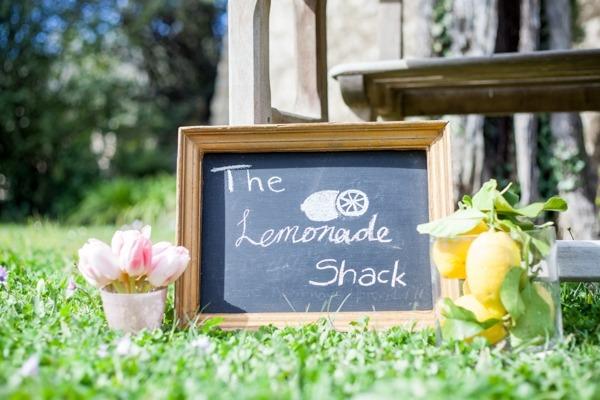 The Lemonade Shack sign