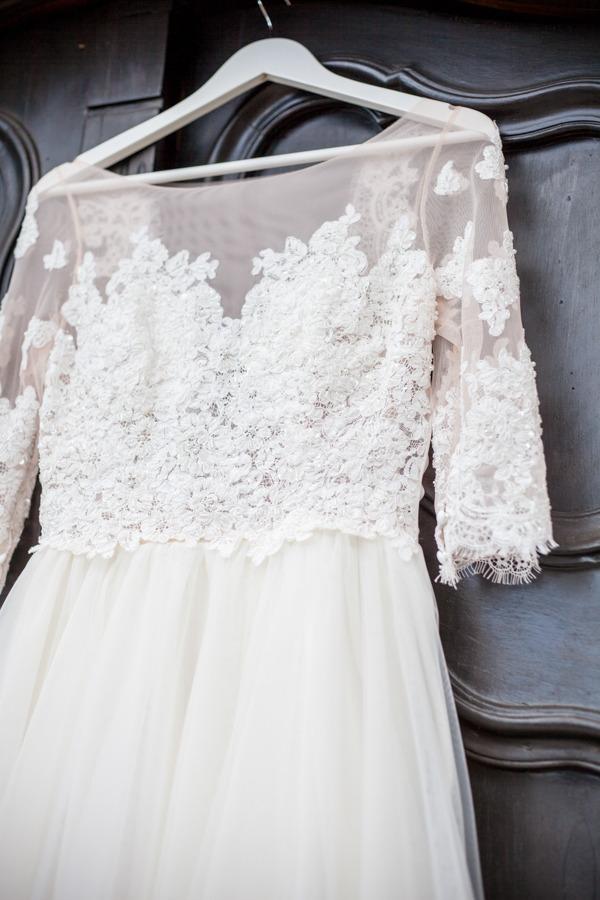 Ela Siromascenko wedding dress