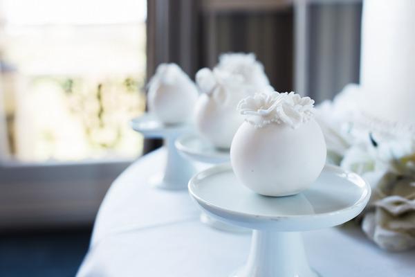 Wedding cake spheres