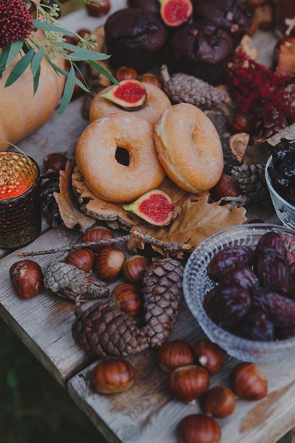 Doughnuts and figs