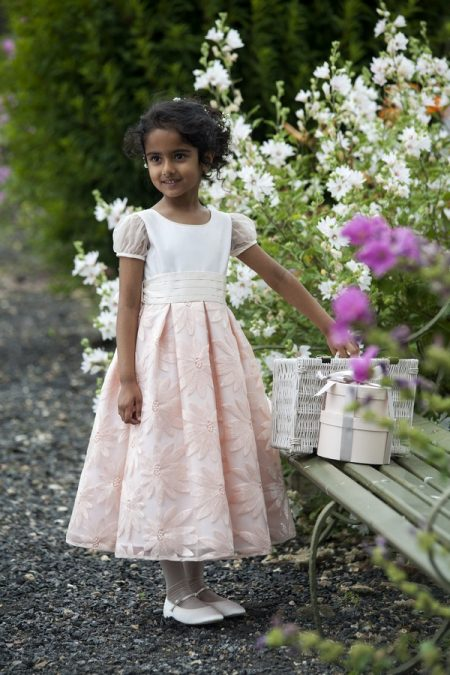 Annabelle flower girl dress by Nicki Macfarlane