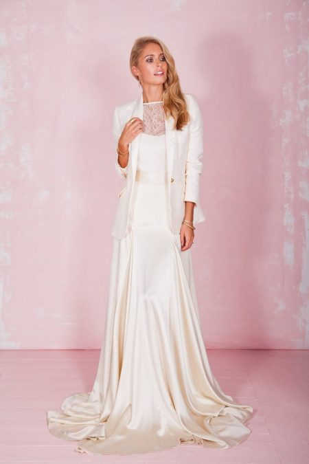 Beatrice Top, Belle Skirt and Clover Blazer - Belle and Bunty 2017 Bridal Collection