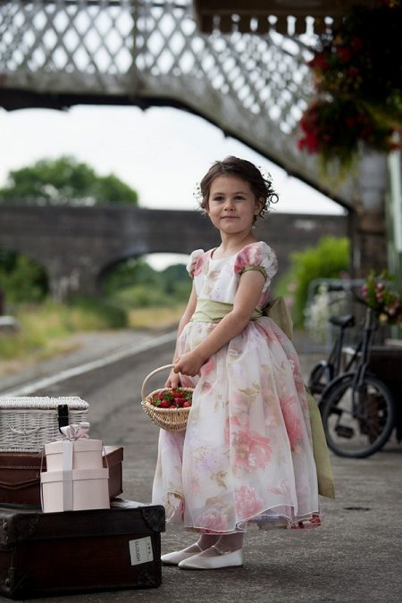 Betsy flower girl dress by Nicki Macfarlane
