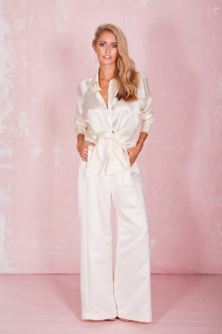 Bianca Shirt and Clover Trousers - Belle and Bunty 2017 Bridal Collection