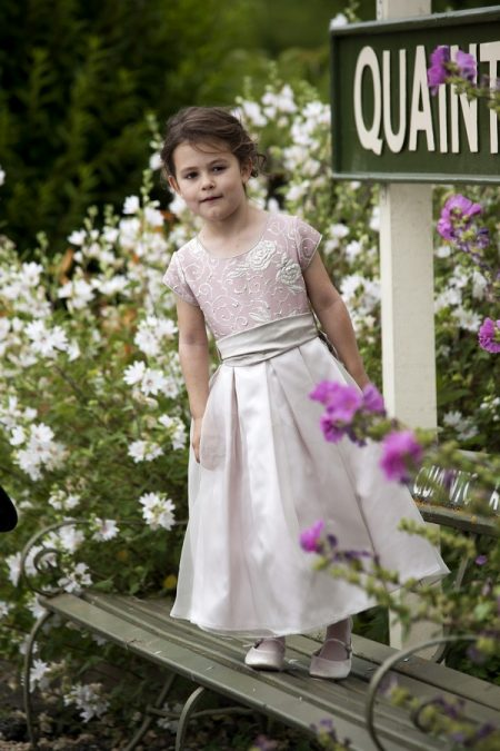 Clara flower girl dress by Nicki Macfarlane