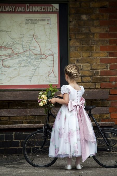 Hermione flower girl dress by Nicki Macfarlane