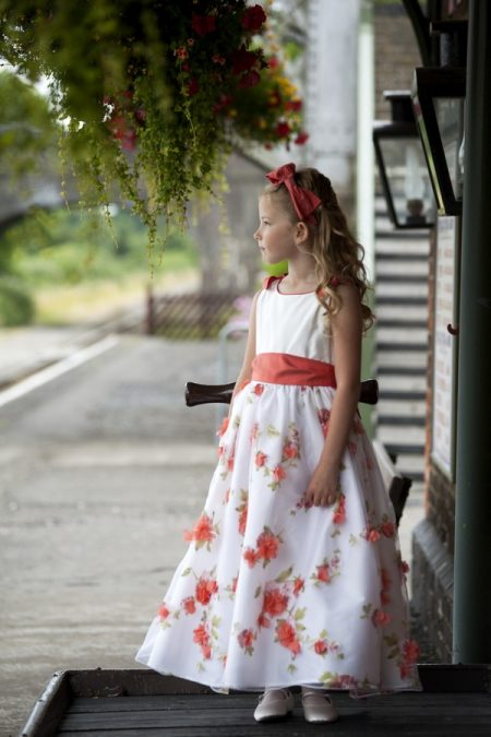 Imogen flower girl dress by Nicki Macfarlane