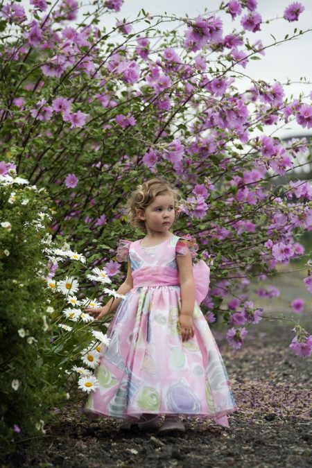 Iona flower girl dress by Nicki Macfarlane
