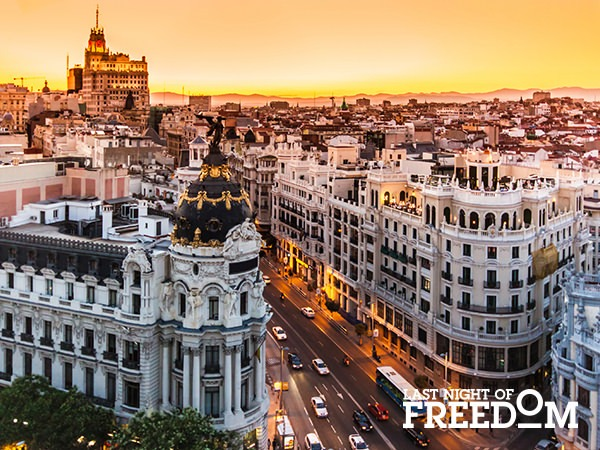 Madrid - Hen Party City Break Location