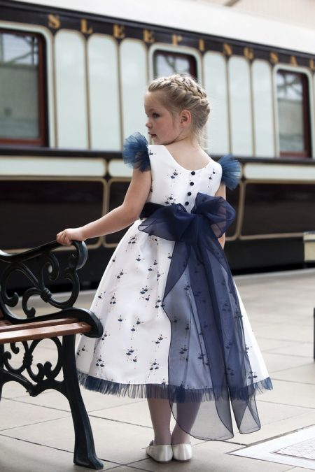 Margot flower girl dress by Nicki Macfarlane