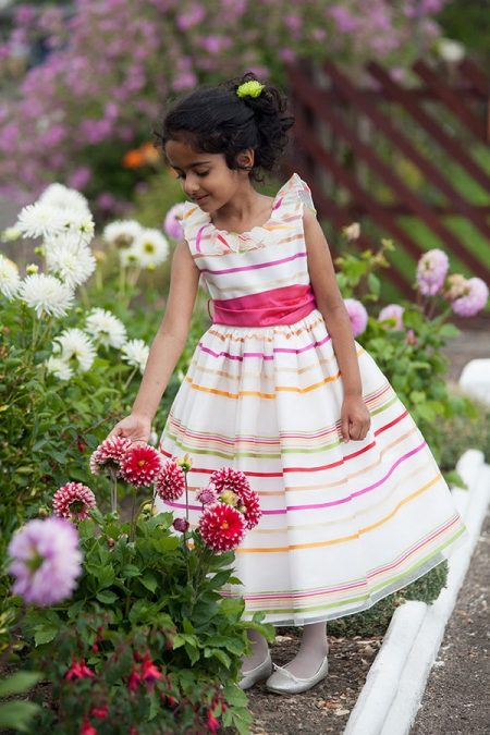 Michaela flower girl dress by Nicki Macfarlane