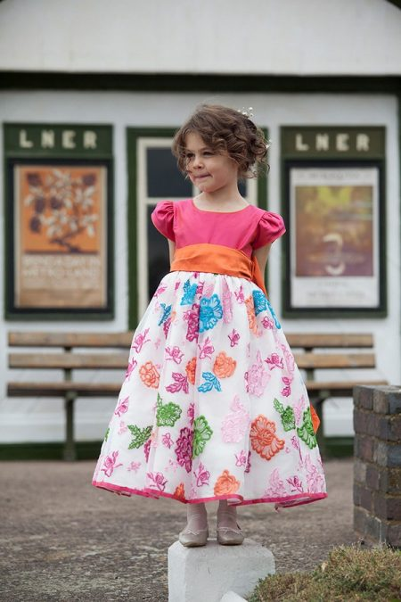 Pandora flower girl dress by Nicki Macfarlane