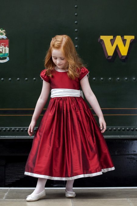 Penelope flower girl dress by Nicki Macfarlane