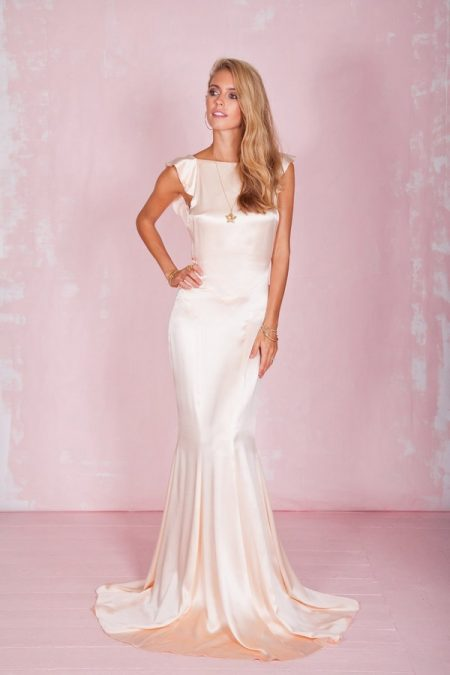 Petal Wedding Dress in Rose - Belle and Bunty 2017 Bridal Collection