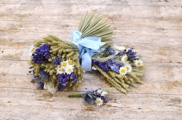 Shropshire Petals Blue Wheat Range
