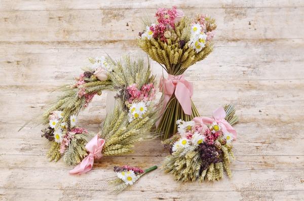 Shropshire Petals Pink Wheat Range