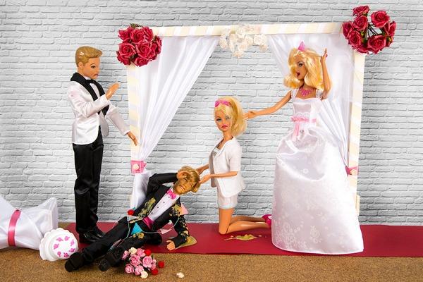 Sick best man - Bizarre Wedding Requests