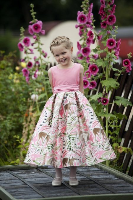 Tabitha flower girl dress by Nicki Macfarlane