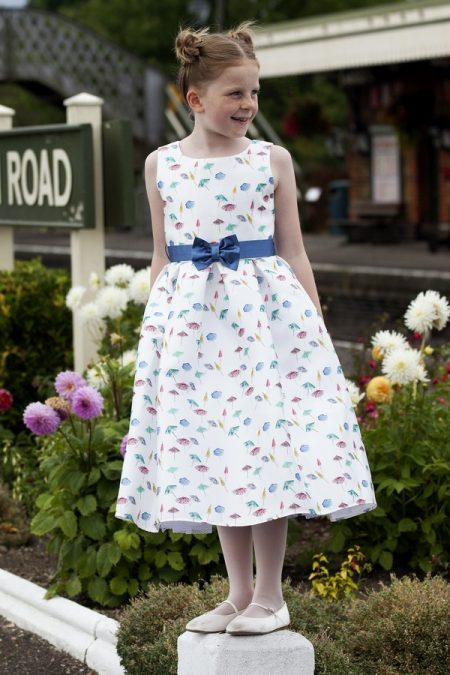 Verity flower girl dress by Nicki Macfarlane