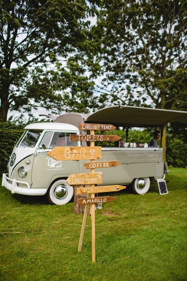 Wedding Sign and VW Camper