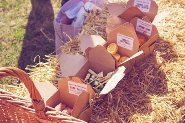 Picnic food boxes