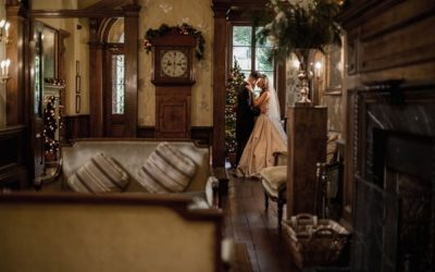 Cosy Winter Wyck Hill House Wedding Shoot