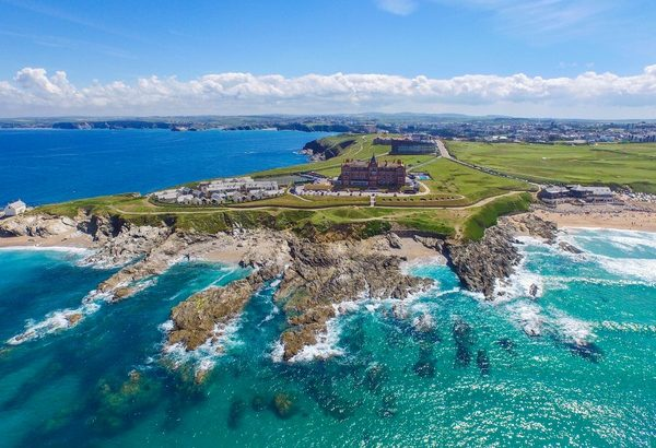 The Headland Hotel and Spa - Hotels with a View