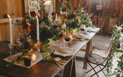 A Rustic Boutique Barn Wedding Shoot