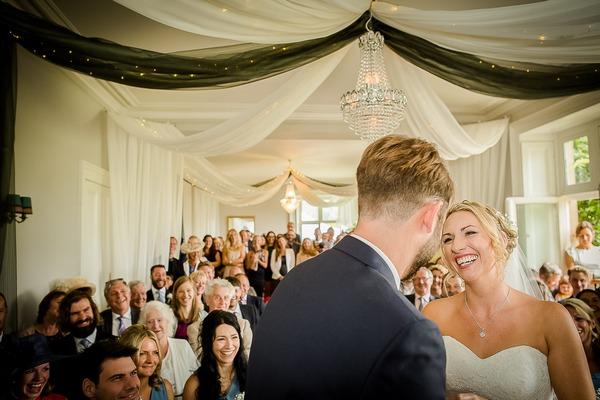 Sparkford Hall wedding ceremony