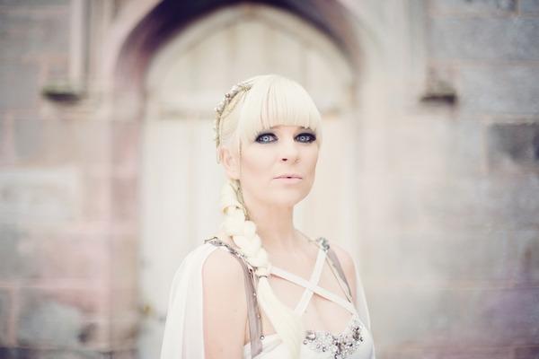 Viking bride with long braid