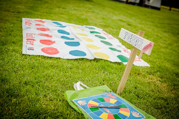 Twister festival wedding game