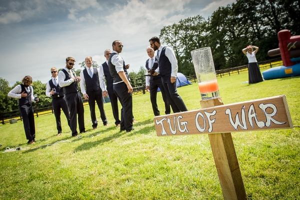 Tug of war team