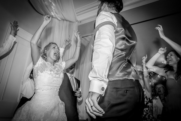 Party at Sparkford Hall wedding