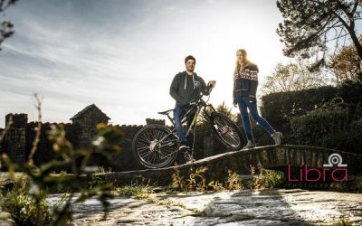 A Mountain Biking Engagement Shoot at Branksome Beach