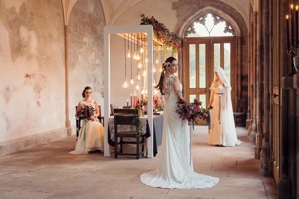 Modern Viking Wedding Inspiration