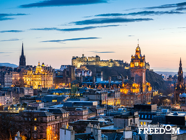 Edinburgh - Most Popular Hen Party Destinations of 2016