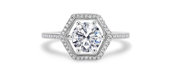 Elaria alternative engagement ring