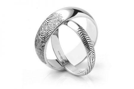 Fingerprint Wedding Ring