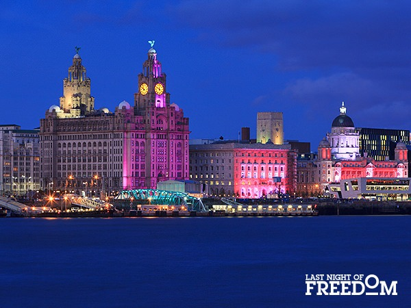 Liverpool - Most Popular Hen Party Destinations of 2016