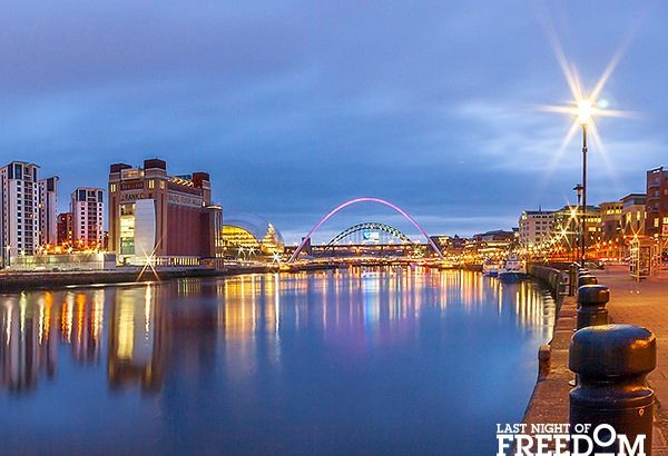 Newcastle - Most Popular Hen Party Destinations of 2016