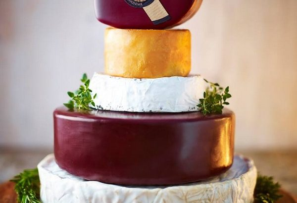 The Godminster Celebration Cake - Wedding Cheese Cakes