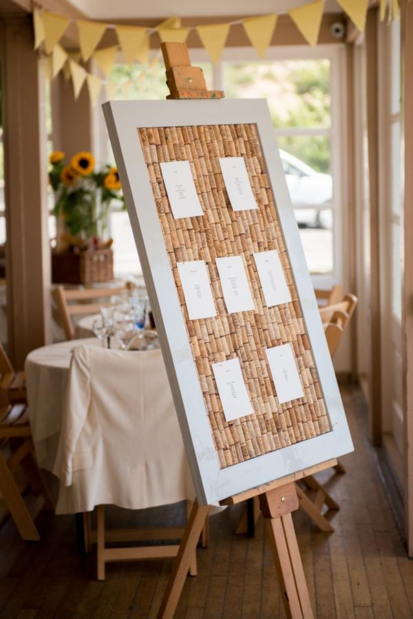Cork wedding seating plan
