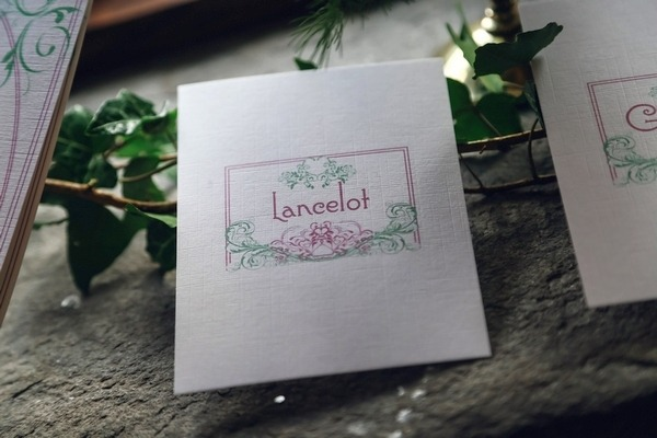 Lancelot name stationery