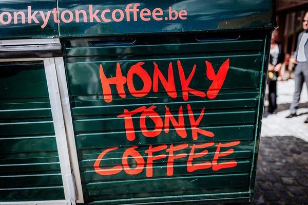 Honky Tonk Coffee van