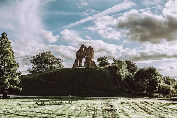 Ruin at Tutbury Castle