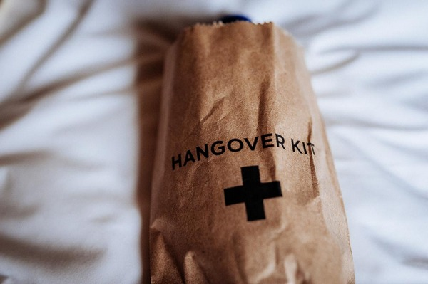 Wedding hangover kit