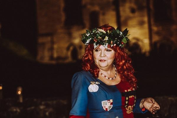 Medieval celebrant