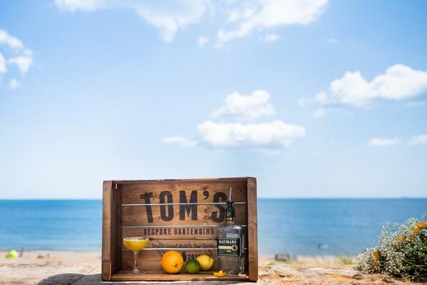 Tom's Bespoke Bartending drinks crate